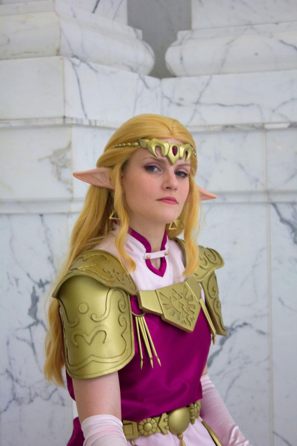 zelda zelda princess of cosplay Legend