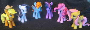 My Little Pony custom pony mane and tail set.