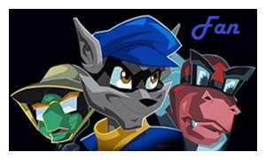 Sly Cooper stamp by ObakaCheshire