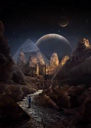 Alien Desert by TiagoAleixo