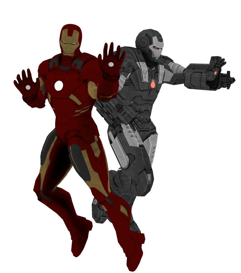 ironman and war machine games