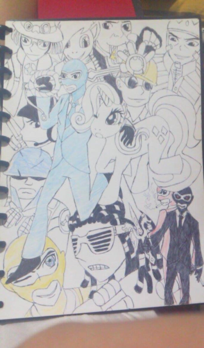 BLU SPY FanArt by Shima0021
