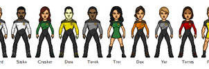 Alternate Star Trek: The Next Generation