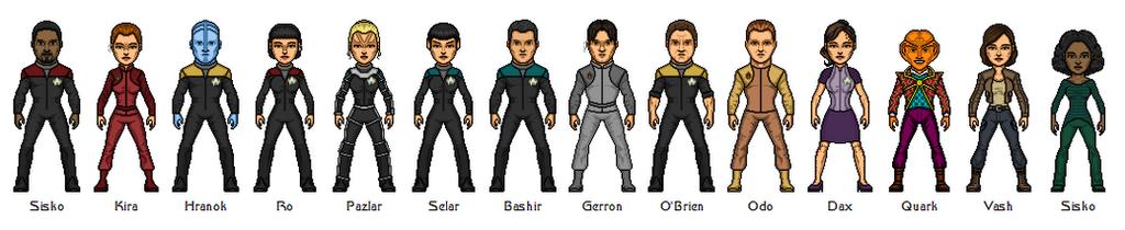 Star Trek: Deep Space 9 ReBoot by Bry-Sinclair