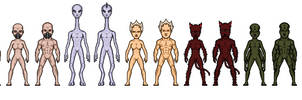 Deep Space Station K-16 Native Aliens