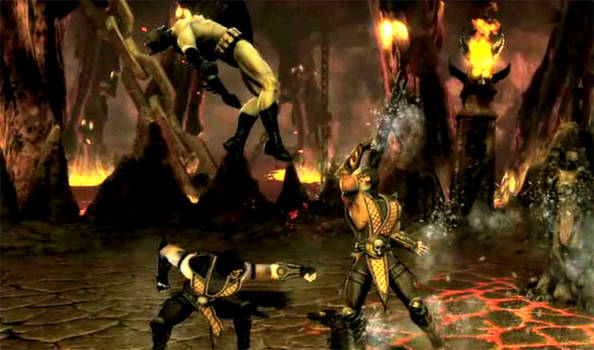 Scorpion: Fire teleport