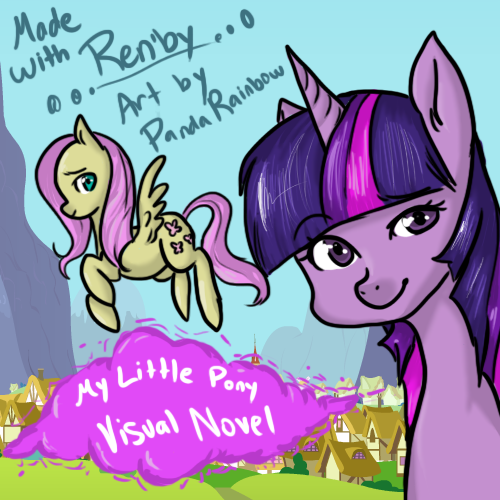 My Little Pony : Visual Novel by PandaRainbow