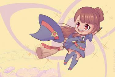 [Fanart] Akko - Little Witch Academia