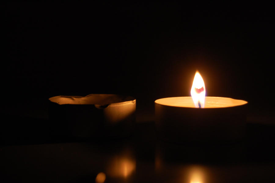 candle in the dark - photo #22