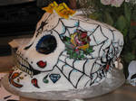 Sugar Skull cake Side 2
