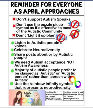 Repost this if you support autistic people