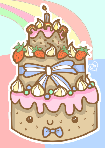 Happy Birthday Cake by Butterscones on DeviantArt