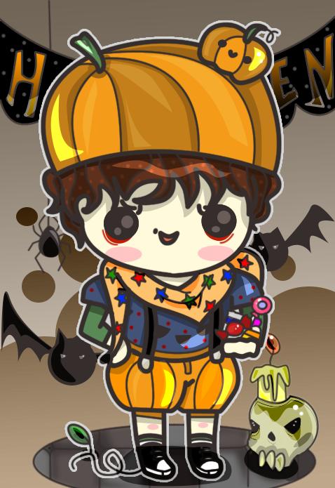 AT - Pumpkin Kid by Butterscones