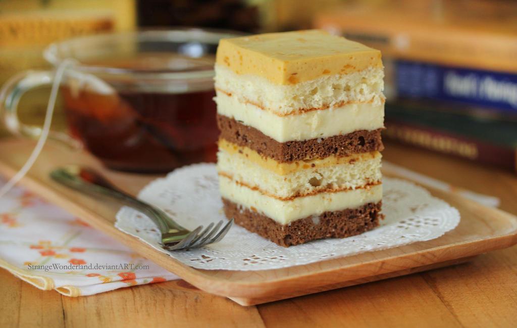 Chocolate Mango And Coconut Cream Cake Recipe — Dishmaps