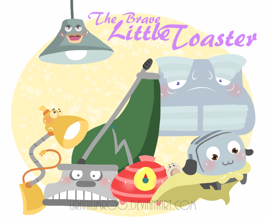 The Brave Little Toaster By 0ckword On DeviantArt