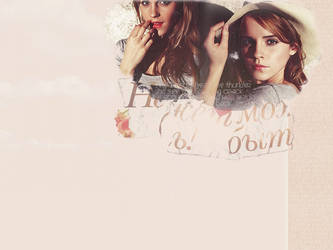 Emma Watson collage 3 by megalomaniaCi