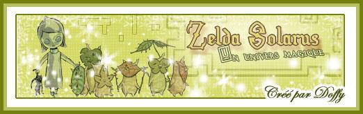Zelda la barre web by ChaRLunE
