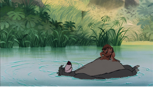 Tarzan and Baloo by FoxTeen0206