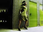 Green Spy 1 by Marciedip