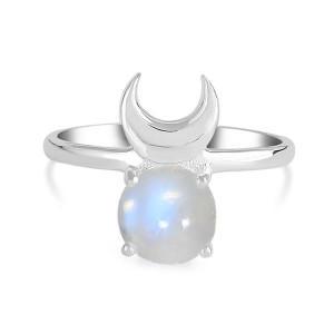 Moonstone ring 18