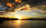 Sunset Over the Intracoastal by flowerhippie22