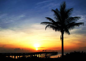 Sunrise at the Pier by flowerhippie22