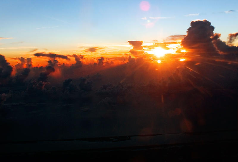 Sunrise Over Florida by flowerhippie22