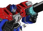 Armada Optimus Prime Colours