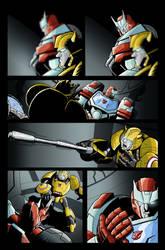 Transformers MTMTE #1 Test Colours