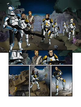Star Wars Clone Wars - Titan Try-Out Colours