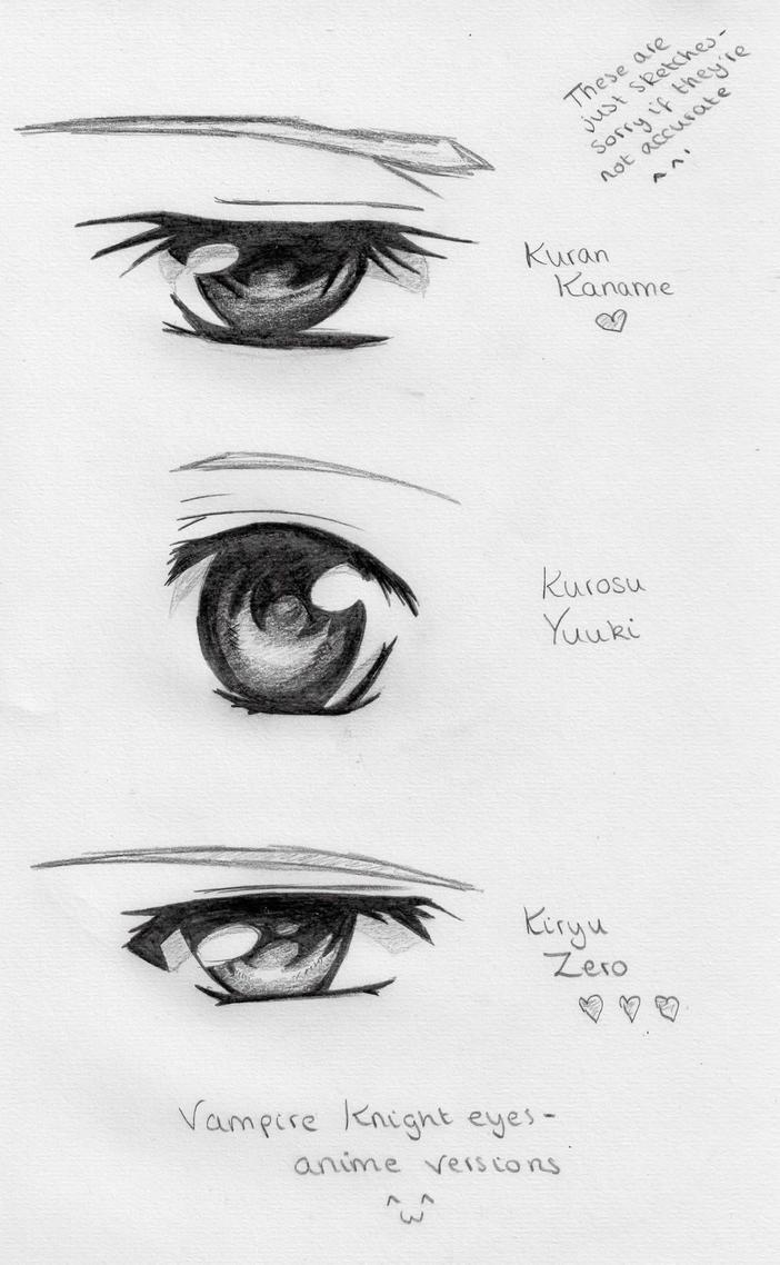Vampire Anime Eyes Zero, Yuuki and...