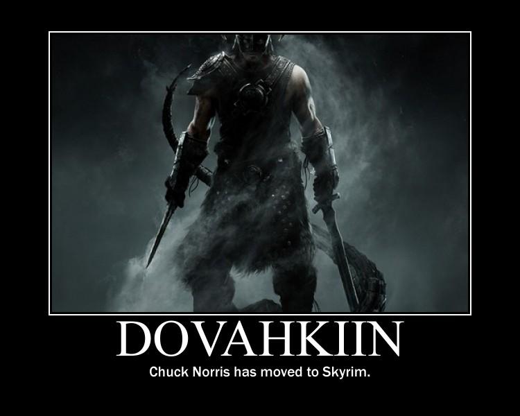 Dovahkiin by KadotheChameleos