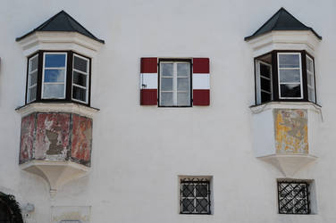 Austrian flagged shutter by osmosis-it