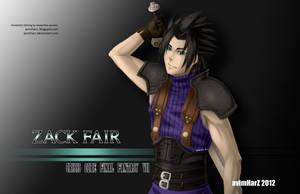 Fanart: Zack Fair of Crisis Core FFVII by avimHarZ