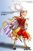 Art trade: Onion Knight from FFIII -dissidia- by avimHarZ