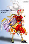 Art trade: Onion Knight from FFIII -dissidia-