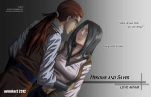 Heroine and Saver: Love Affair by avimHarZ
