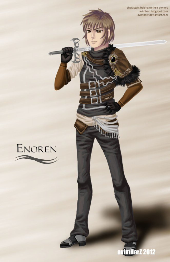 Commission: Enoren by avimHarZ