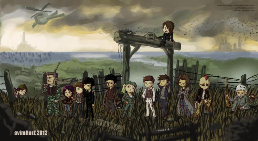 Commission: S.T.A.L.K.E.R. Chibis by avimHarZ