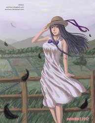 Random girl on a farm by avimHarZ