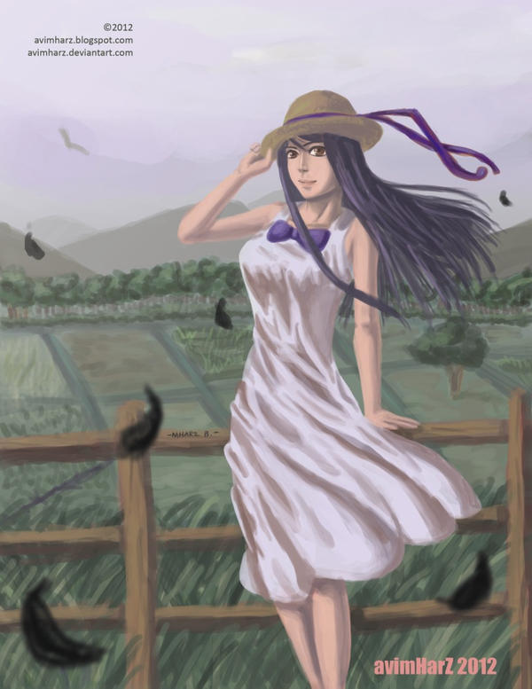Random girl on a farm