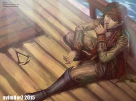 Fanart: James Kidd/Mary Read from AC IV by avimHarZ