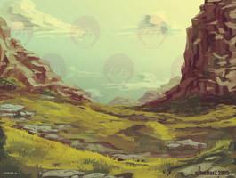 Random  Mountain by avimHarZ