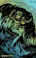 Digital Art - Surf by avimHarZ
