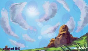 Random Mountain 2 by avimHarZ