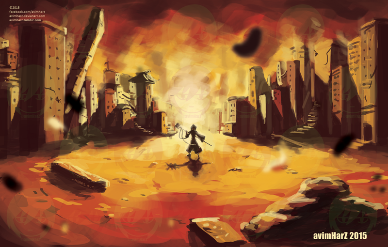 Burn by avimHarZ