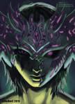 Digital Painting: 'Torn Mask' ft. Avi