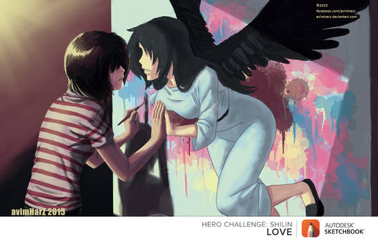 August Hero Challenge: Love is... this.