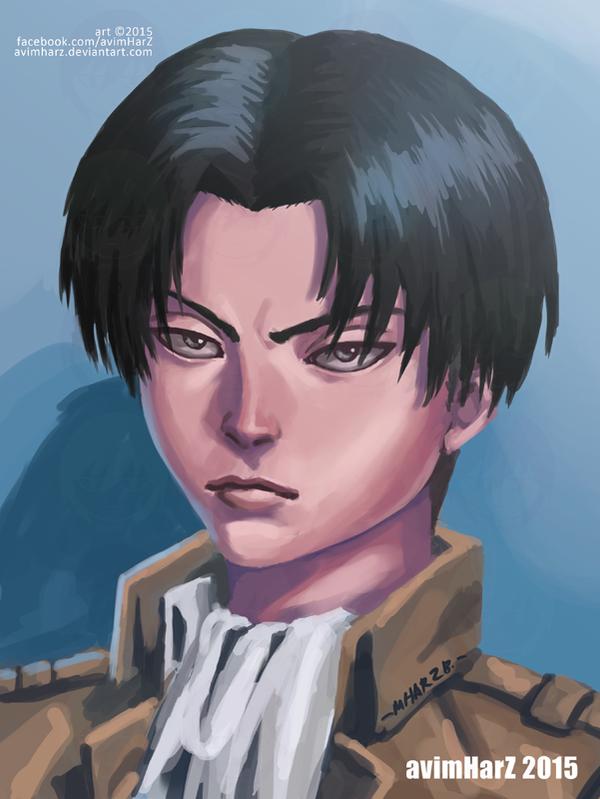 Fanart: Levi portrait by avimHarZ