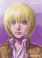 Fanart: Armin Arlert Portrait by avimHarZ